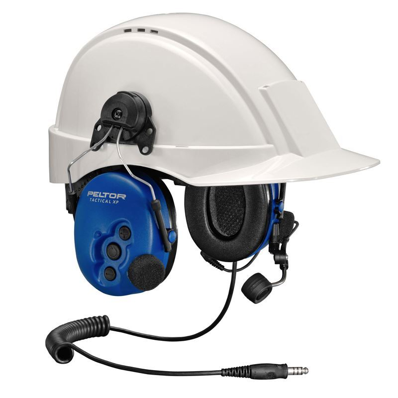 Peltor ATEX Tactical Heavy Duty Headset, Helmet Attachment and Boom  Microphone