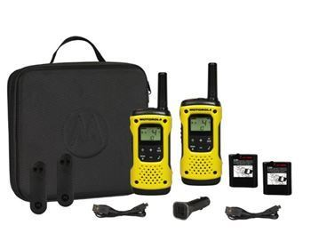 Motorola launches its first waterproof, licence free walkie talkie
