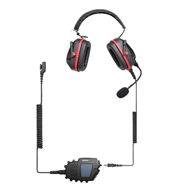 Hytera PD700EX Atex Heavy Duty Headset With Atex N2 PTT