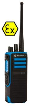 Motorola DP4401 EX - Mototrbo ATEX Digital Portable Radio