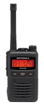 Motorola EVX-S24 Digital Hand Portable Two Way Radio