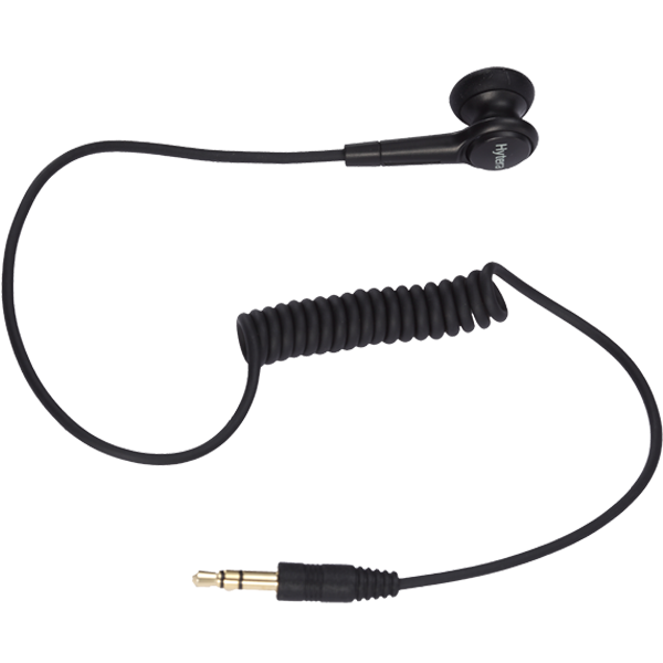 Hytera Earbud Without Earpiece Receive Only