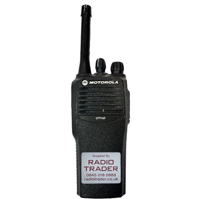 Refurbished Motorola CP040 UHF 4 Channel Two Way Hand Portable Radio