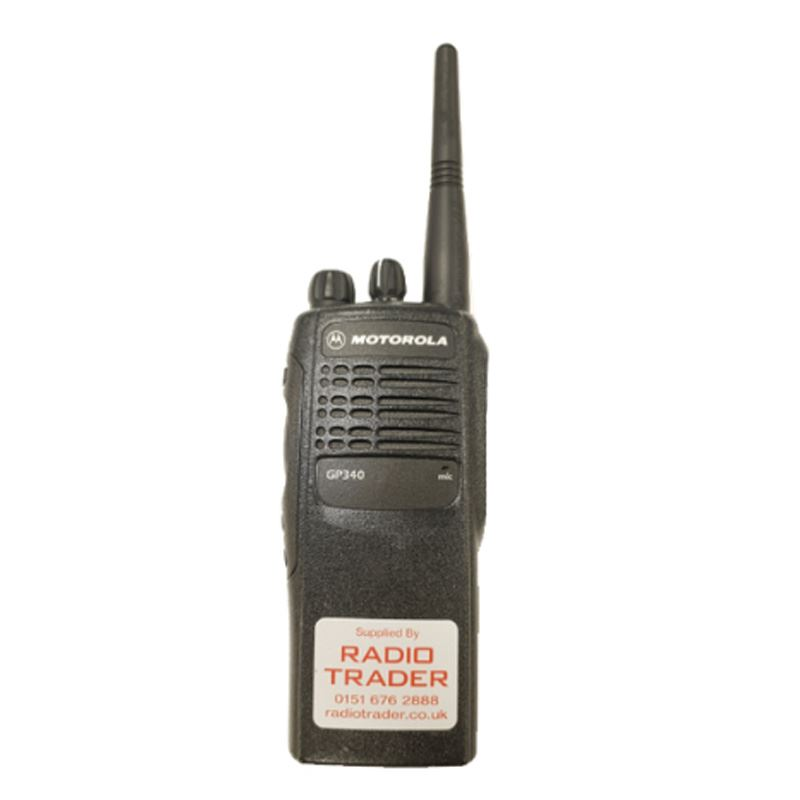 Motorola GP340 VHF Hand Portable Used