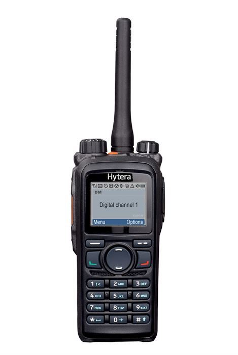 Hytera PD785G Hand Portable Radio With GPS