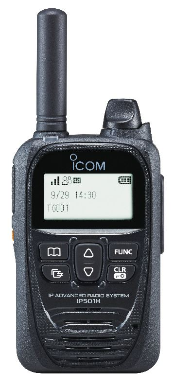 Icom IP501H POC Push To Talk Over Cellular Hand Portable
