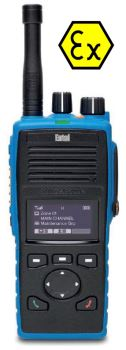 Entel DT953 DMR Atex IIC PMR446 Hand Portable Two Way Radio