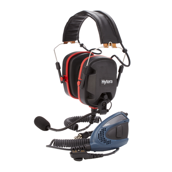 Hytera PD700EX Atex Heavy Duty Headset With PTT Unit