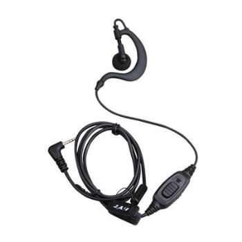 HYT TC-320 PMR446 C-Shape Earpiece With In-line Mic and PTT