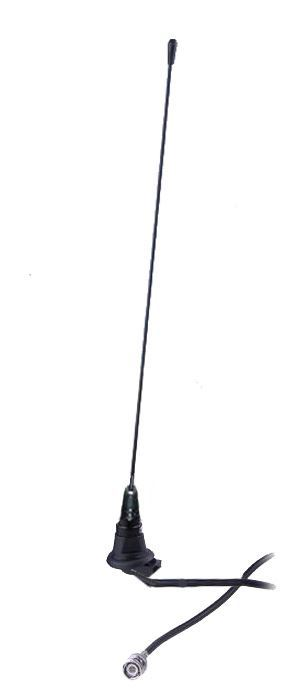 Panel Mount Aerial With Straight Whip & Plug