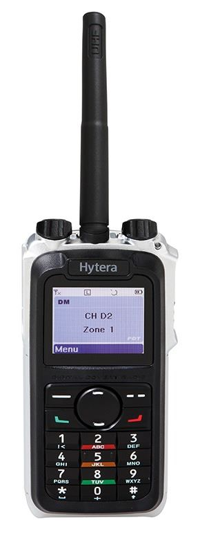 Hytera X1p Hand Portable Radio With GPS and Man Down
