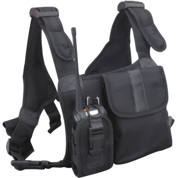 Hytera Universal Nylon Chest Pack Black