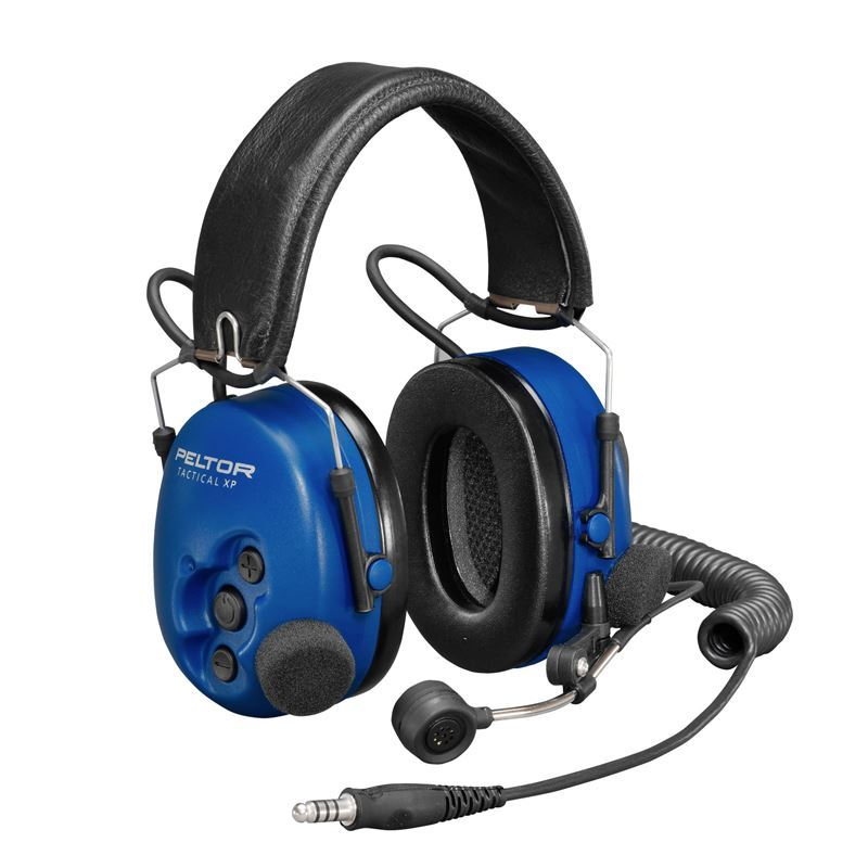 Peltor ATEX Tactical Over-the-Head Heavy Duty Headset with Boom Microphone