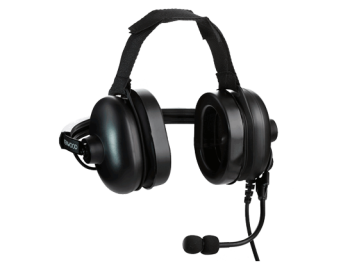 Kenwood NX-1000 Heavy Duty Noise Reduction Headset (Behind The Head)