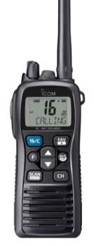 Icom IC-M73 Euro / IC-M73 Plus Professional VHF Waterproof Hand Portable