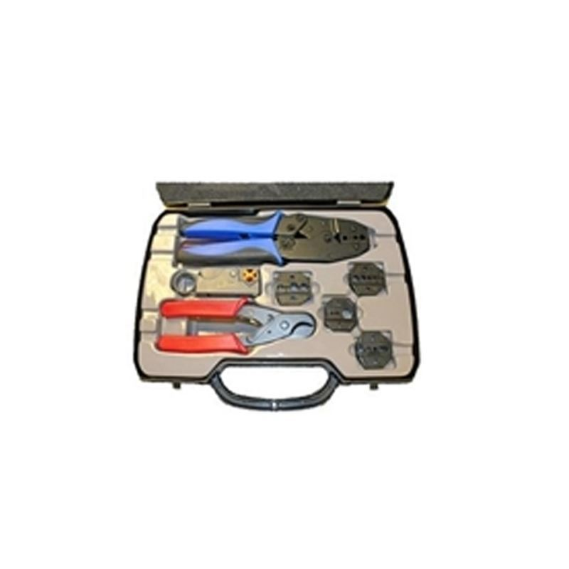 Crimp Tool Kit - BNC, N, TNC, UHF, FME