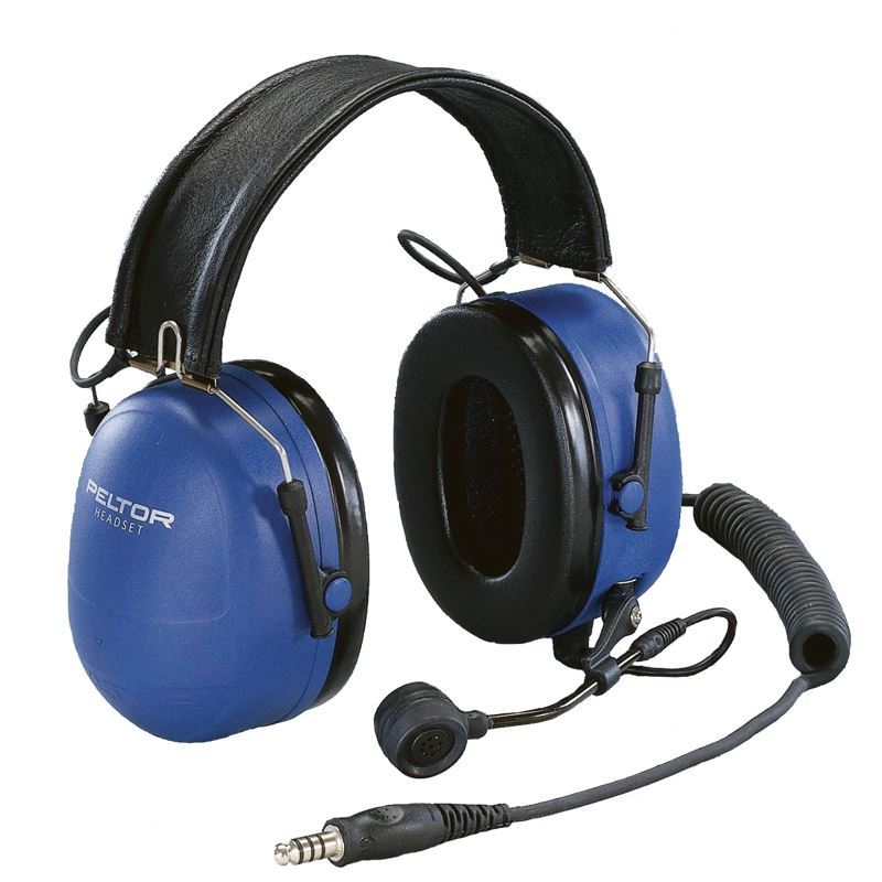 Peltor ATEX Over-the-Head Heavy Duty Headset with Boom Microphone