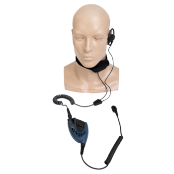 Hytera PD700EX Atex Throat Microphone Headset With PTT Unit
