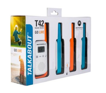 Motorola T42 License Free Quad Pack