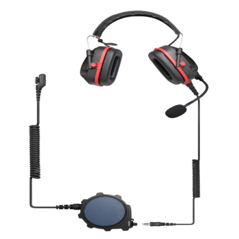 Hytera PD700EX Atex Heavy Duty Headset with Big PTT