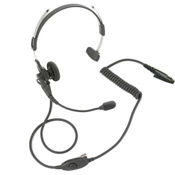 Motorola GP344 / GP388 Lightweight Headset With Boom Mic and In-Line PTT