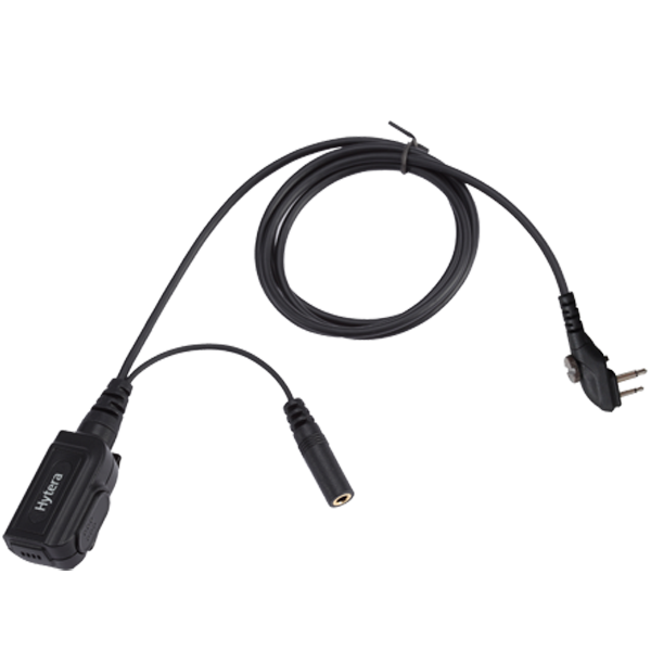 HYT TC600 TC700 Series Control Cable With Water-Proof Inline-Mic PTT