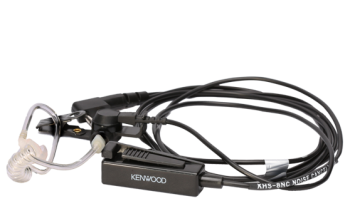 Kenwood NX-1000 Two-Wire Palm Microphone (noise cancelling) with Earpiece