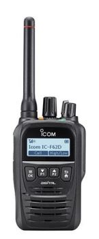 Icom IC-F52D / IC-F62D Hand Portable Two Way Radio